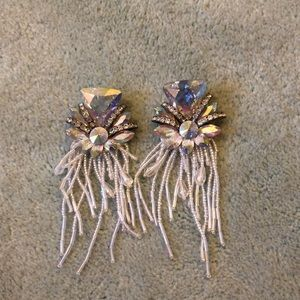 Jewelry - Earrings with Rhinestones and Beads